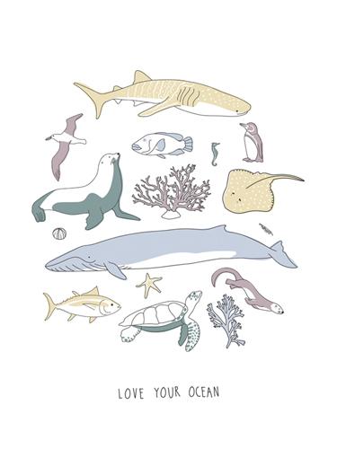 Love Your Ocean by Clara Wells