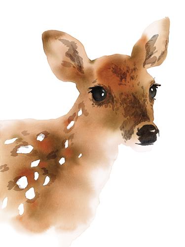 Doe A Deer by Kristine Hegre