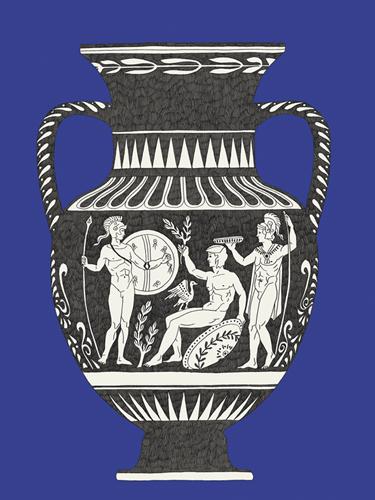 Ancient Amphora by Kristine Hegre