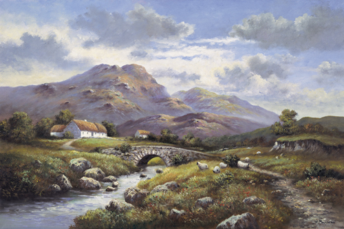 Path to the Hills by Wendy Reeves