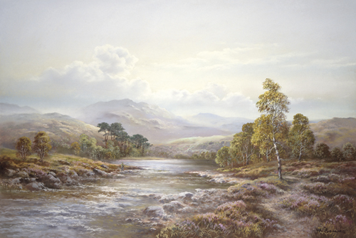 Highland River by Wendy Reeves