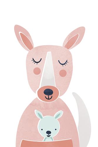 Little Roo Peekaboo by Clara Wells