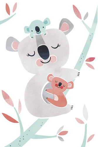 Koala Cuddles by Clara Wells