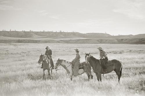 Prairie Posse by Kernud Hansen