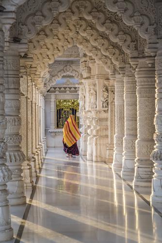 Jain Akshardham Temple by Richard T Nowitz