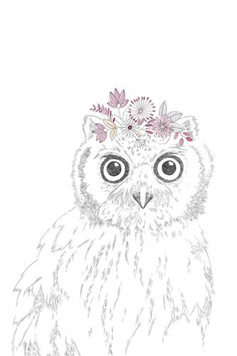 Woodland Wonders - Owl by Kristine Hegre