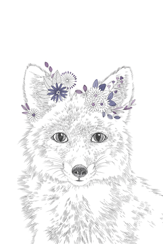 Woodland Wonders - Fox by Kristine Hegre