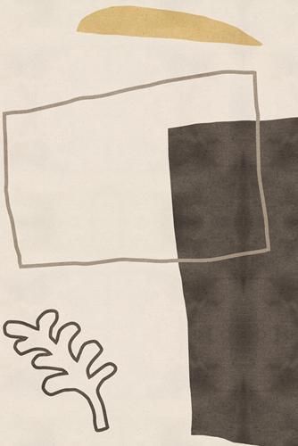 Expressive Markings - Leaf by Maja Gunnarsdottir