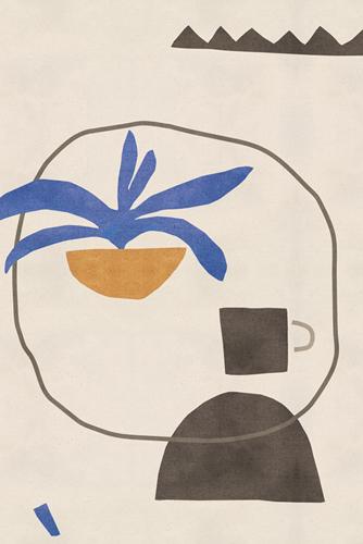 Expressive Markings - Cup by Maja Gunnarsdottir