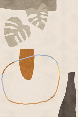 Expressive Markings - Foliage by Maja Gunnarsdottir