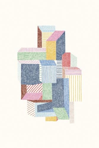 Urban Rhythm - Assemble by Maja Gunnarsdottir