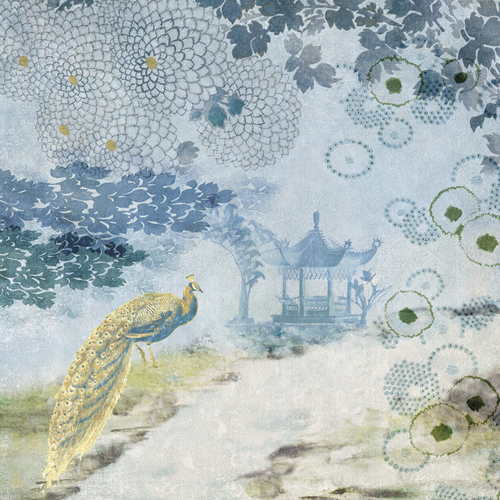 Blue Grace by Belle Poesia