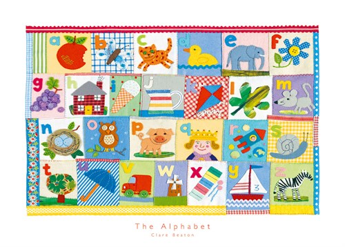 The Alphabet by Clare Beaton