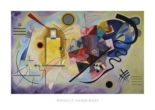 Yellow, Red, and Blue, 1925 by Wassily Kandinsky