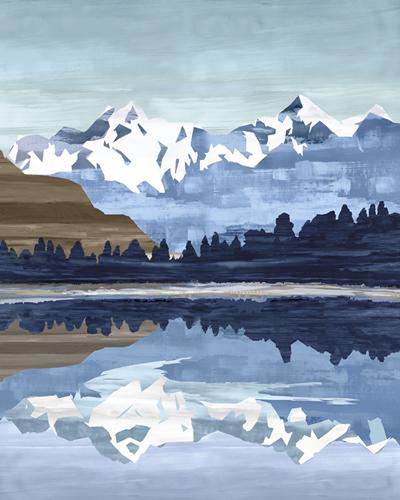 Wintry Peak by Mark Chandon