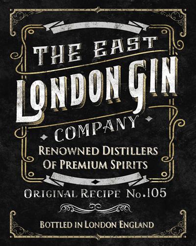 London Gin by Tania Bello