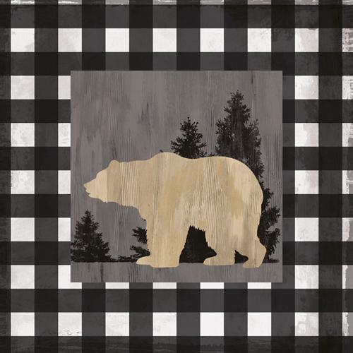 Bear Check by Tania Bello