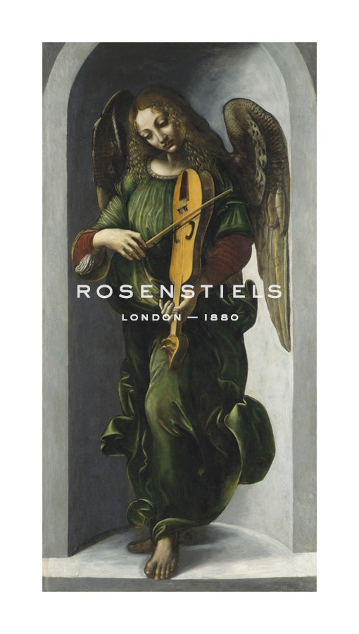 An Angel in Green with a Vielle - Leonardo da Vinci