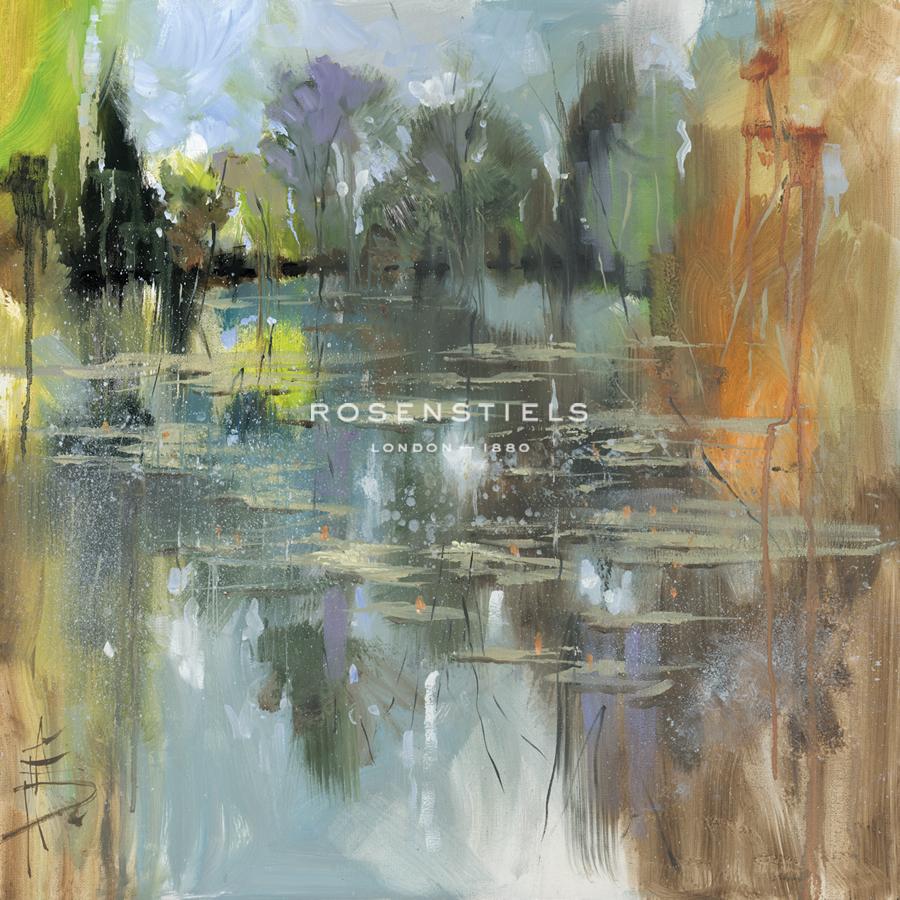 Lily Pond - Still - Anne Farrall Doyle