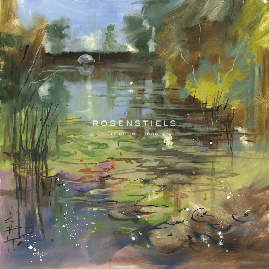 Lily Pond - Calm - Anne Farrall Doyle