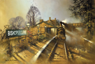 Bishopsbourne Station by Barrie A F Clark