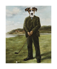 Persistent Golfer by Thierry Poncelet