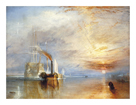 The Fighting Temeraire by J.M.W. Turner