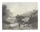 Bamboo Aqueduct at Hong Kong by Sir Thomas Allom