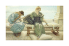 The Handmaiden by Sir Lawrence Alma-Tadema