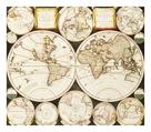 Planisphaerium Terrestre Sive Terrarum Orbis, 1696 by Carel Allard