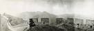 Great Wall of China, 1906 - View from a watch towers by Waldemar Abegg