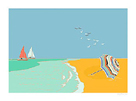 Summer Bay IV by Emily Burningham