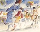 Promenade des Anglais by Michel Boulet