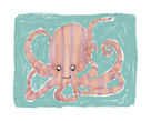 Striped Octopus by Katrien Soeffers