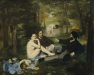 The Luncheon on the Grass by Edouard Manet