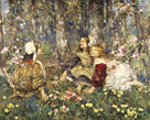 Music of the Woods by Edward Atkinson Hornel