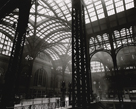 Penn Station, Interior, Manhattan by Berenice Abbott