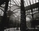 Penn Station, Interior, Manhattan by Berenice Abbott