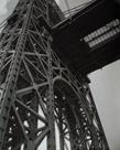 George Washington Bridge, Riverside Drive and 179th Street, Manhattan by Berenice Abbott