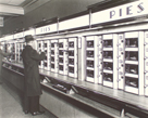 Automat, 977 Eighth Avenue, Manhattan by Berenice Abbott