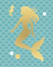 Mermaid Seahorse by Sasha Blake