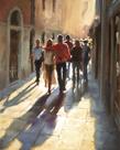 Lost in Love, in Venice by Hazel Soan
