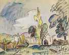 Landerneau by Paul Signac