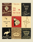 Matchbook - Stork Club by Andy Burgess