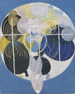 The Large Figure Paintings, No.5, Group III, 1907 by Hilma af Klint