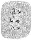 It Is What It Is by Virginia Kraljevic