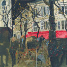 Autumn, Montmartre, Paris by Susan Brown