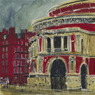 Concert Hall, Royal Albert Hall, London by Susan Brown