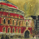 Royal Albert Hall from Kensington Gore, London by Susan Brown