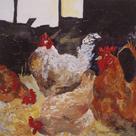 In the Barn by Anuk Naumann